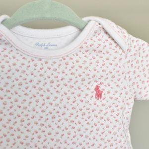 Ralph Lauren One Pieces - Ralph Lauren Baby Girl Cotton Bodysuit 2-Pack, 6M